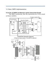 basic instructions in mips