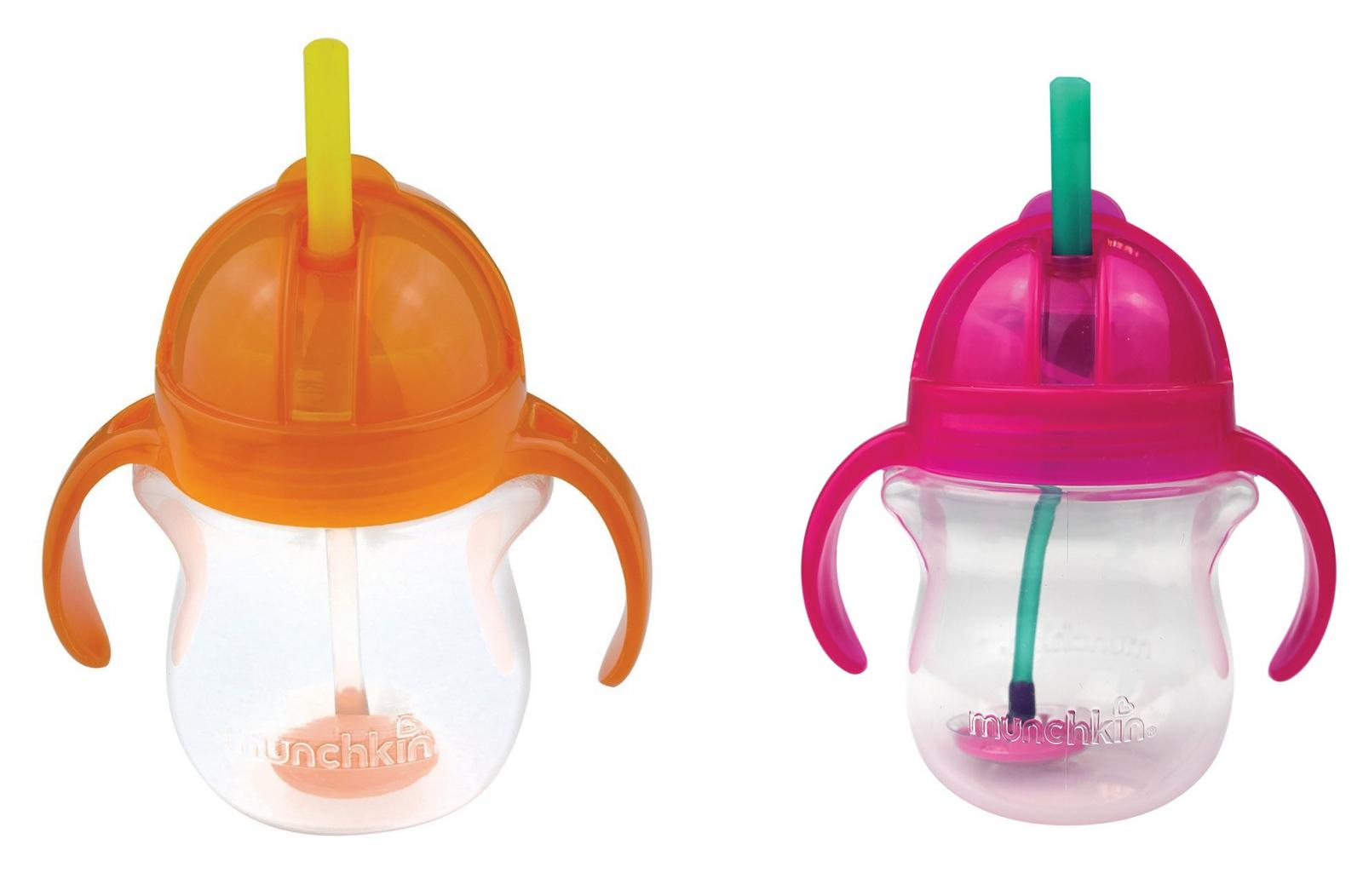 munchkin click lock straw cup instructions
