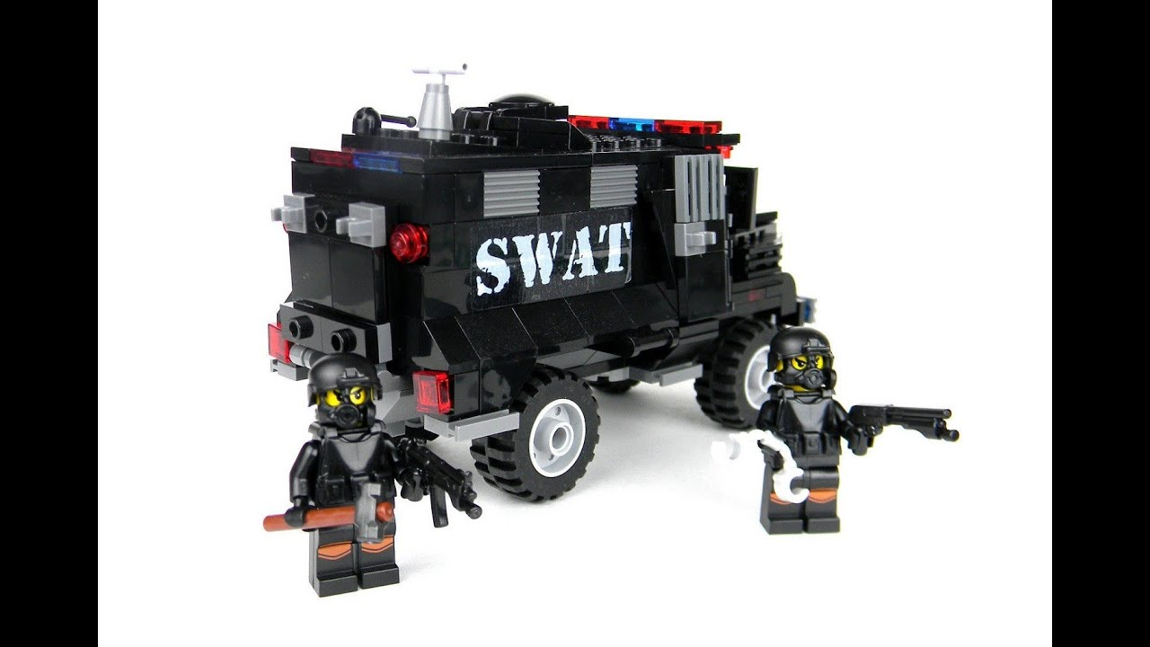 brick army jeep instructions
