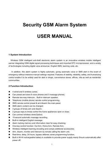quality manual instruction procedure
