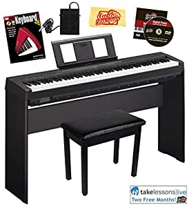 yamaha p-45 digital piano instruction book