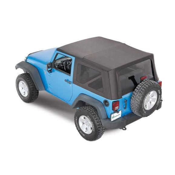 2017 jeep wrangler 4 door soft top instructions