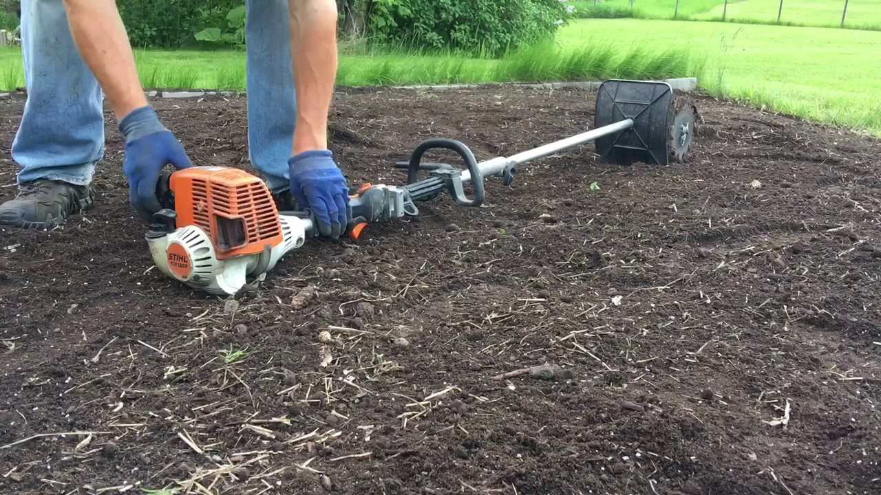 stihl tiller starting instructions
