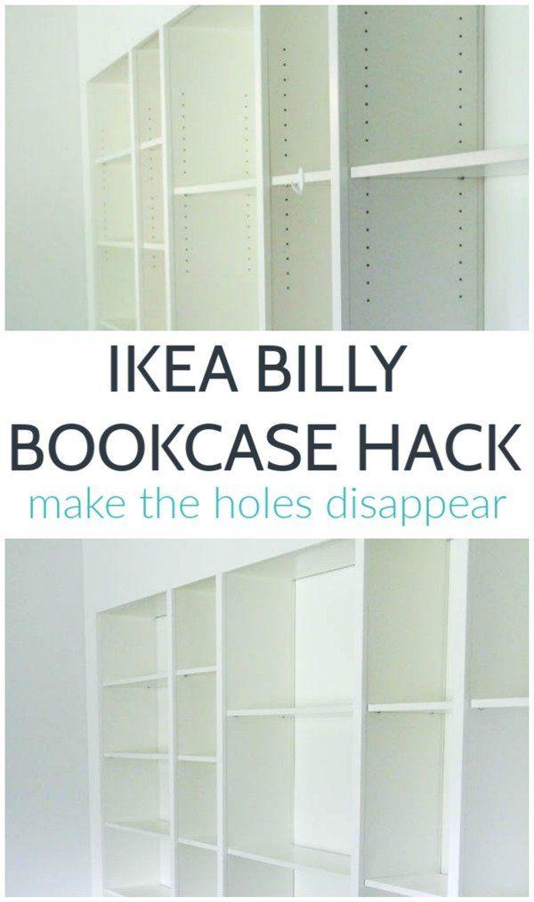 ikea billy hack instructions