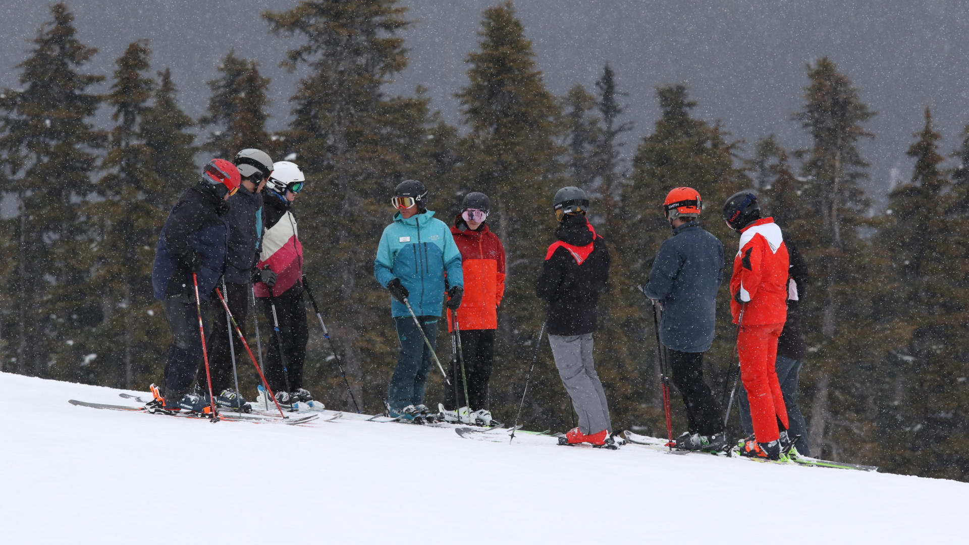 canada snowboard instructing course