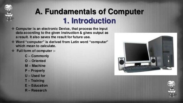 basic instruction types in computer organization