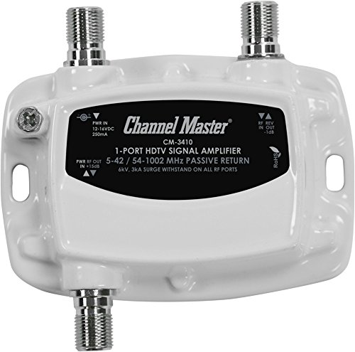 channel master 3410 instructions