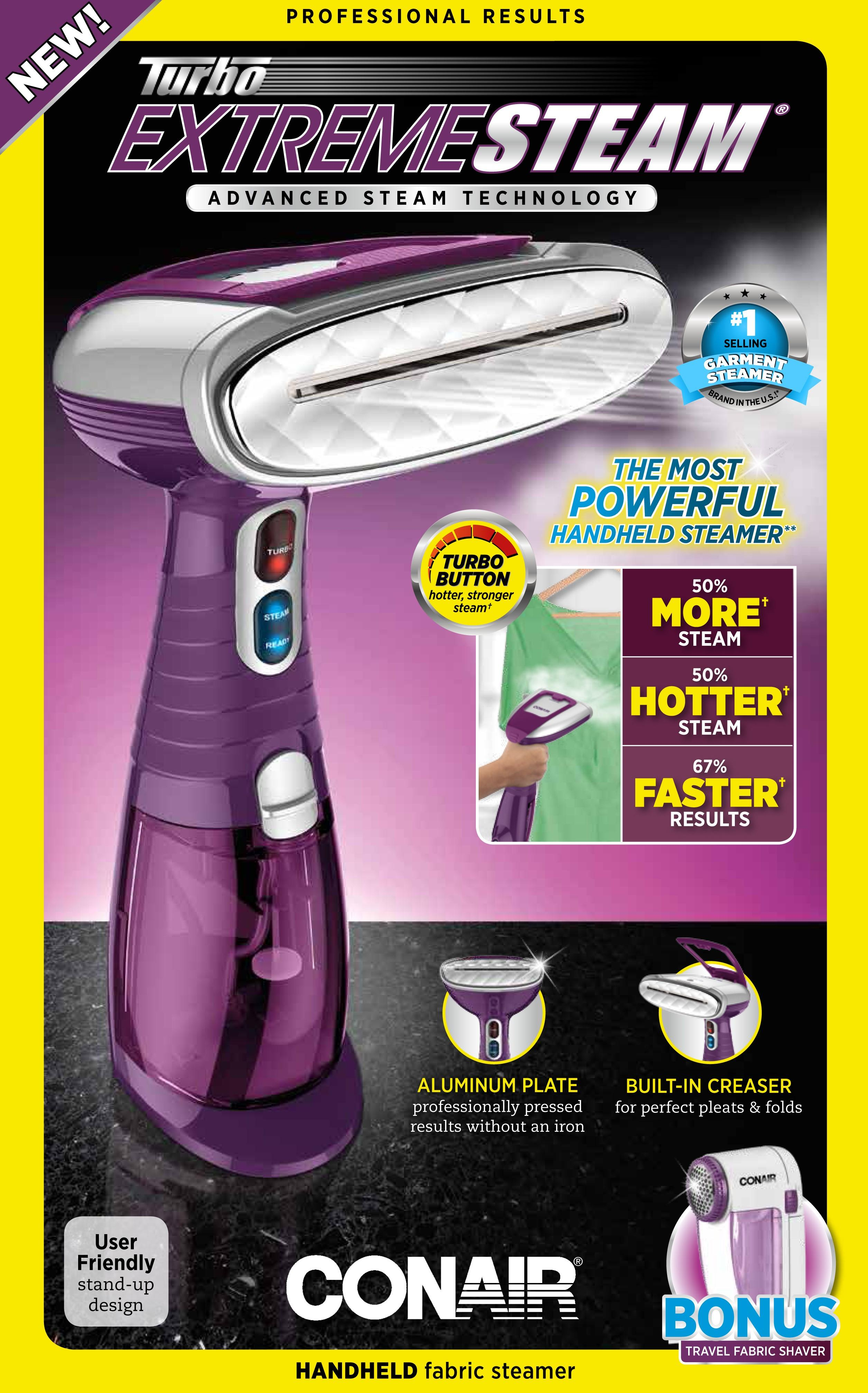conair professional garment steamer instructions