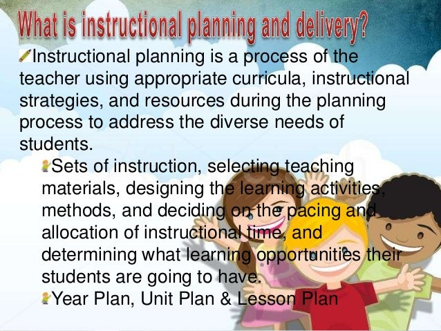 content specific instructional strategies