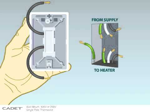 double pole thermostat wiring instructions