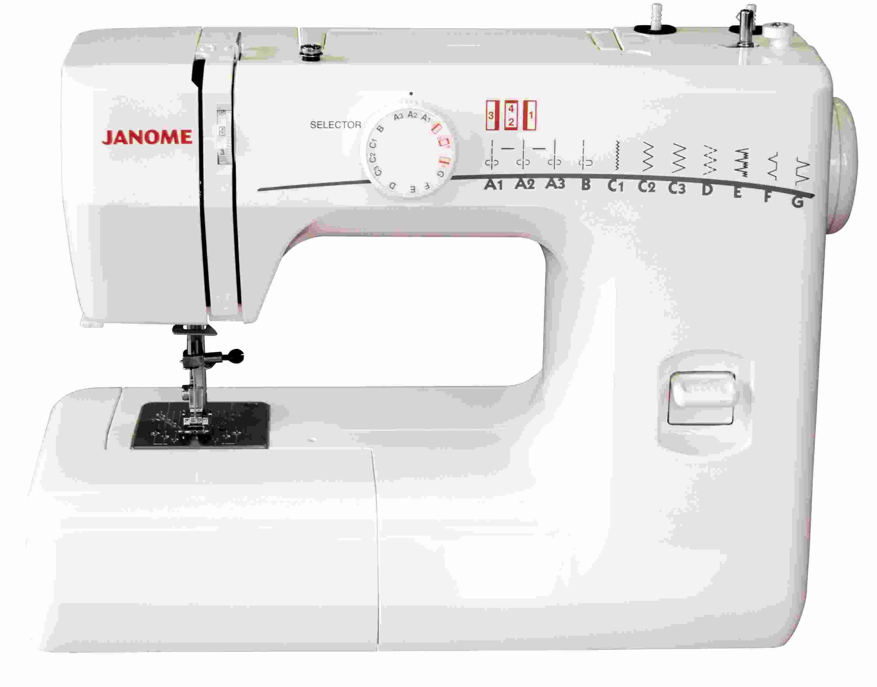 janome 8077 instruction manual