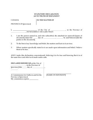 information and instructions for a commissioner of oaths in alberta