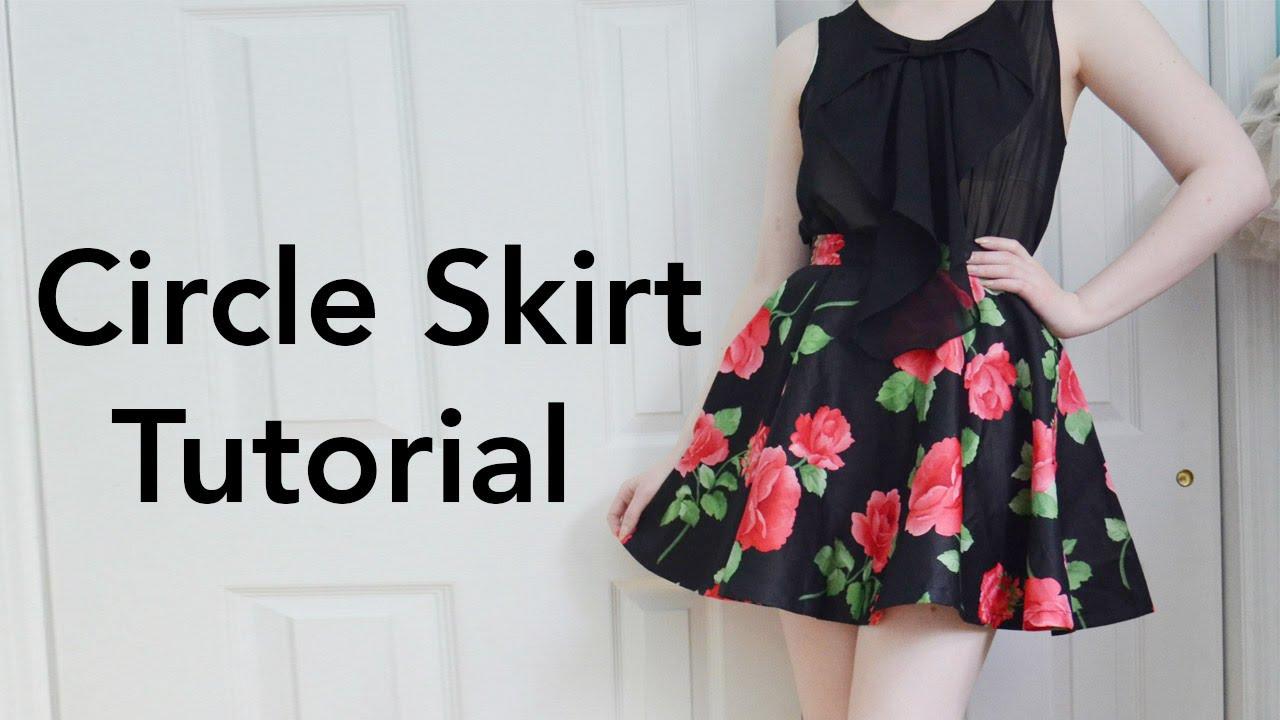easy half circle skirt instructions