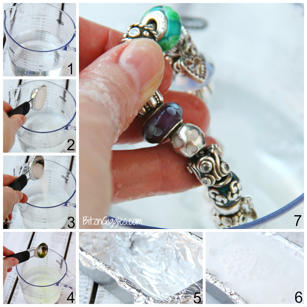 silver jewelry cleaner instructions 2 minutes