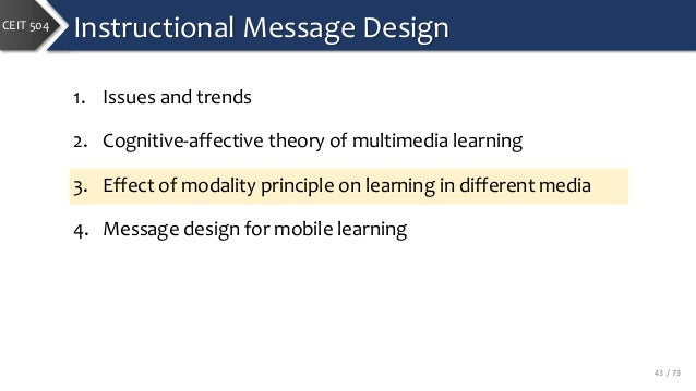 instructional design trends and issues
