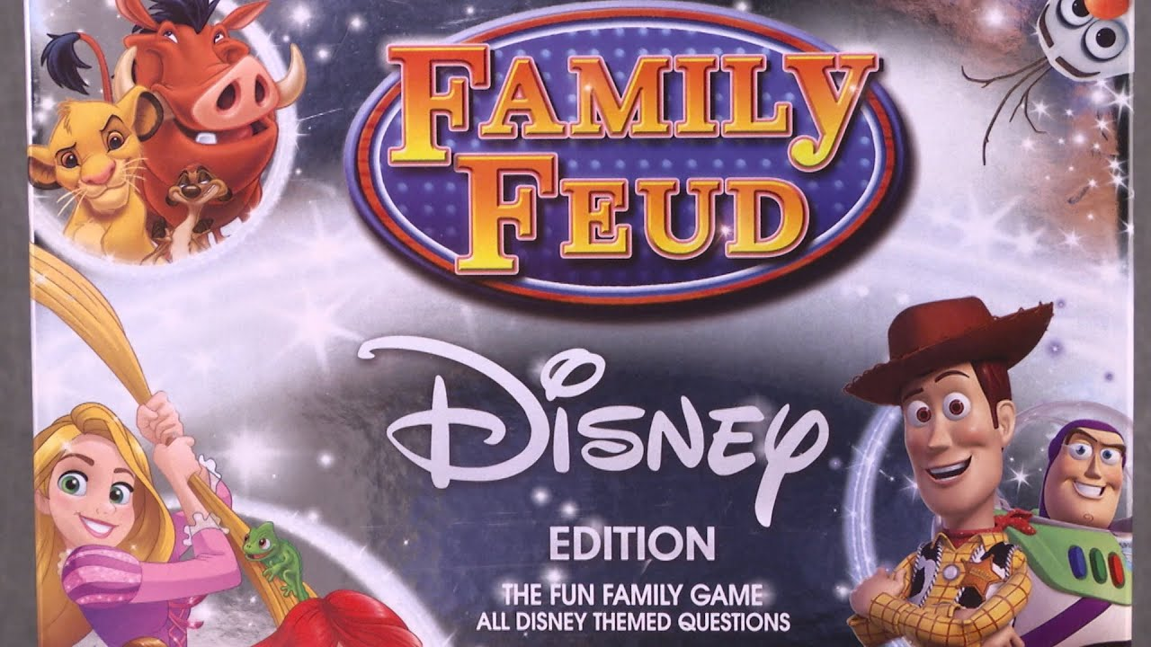 family feud disney instructions