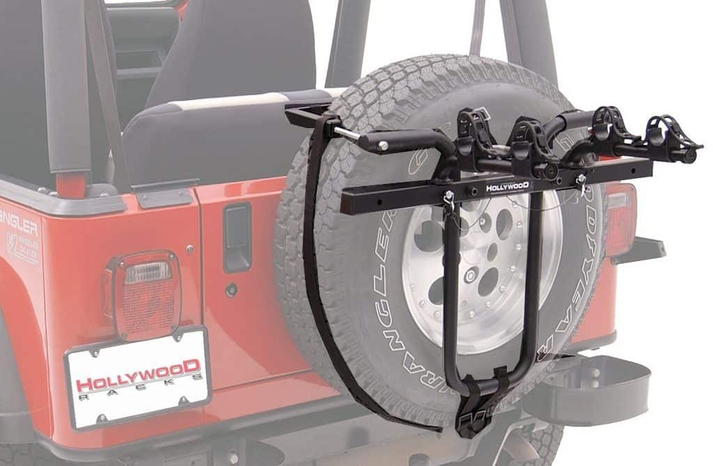 over spare tire bike rack instructions
