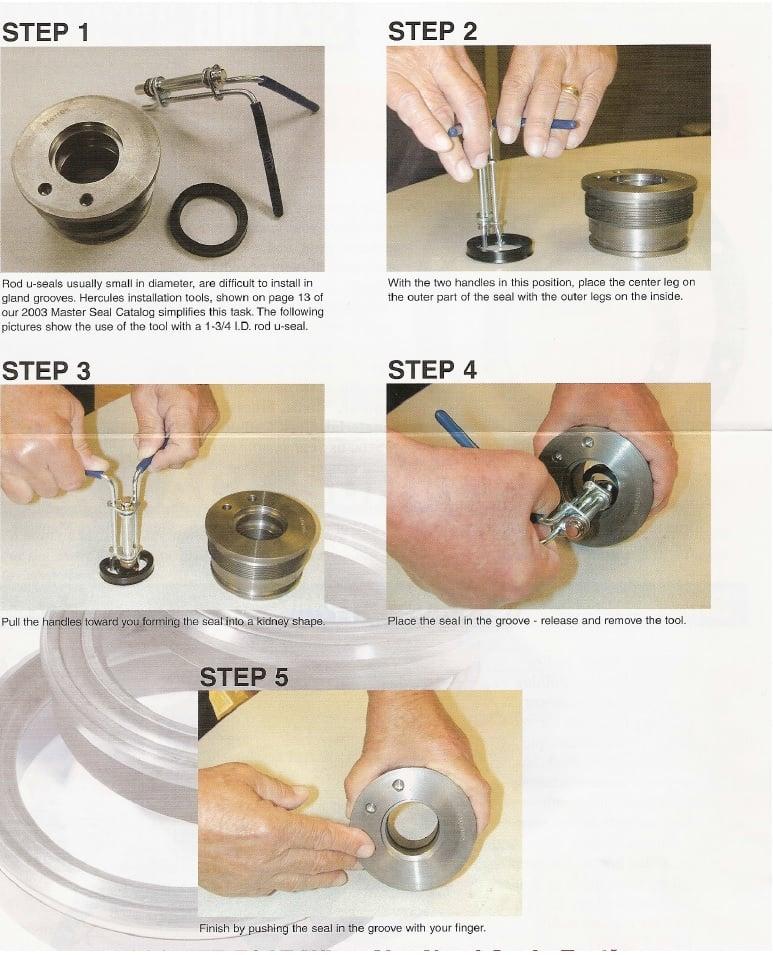 646p3 seal kit installation instructions