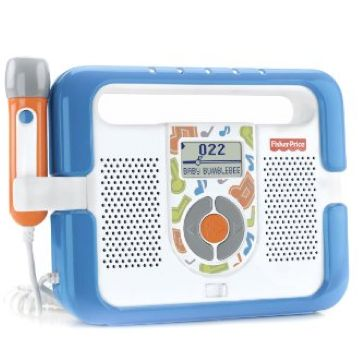 fisher price kid tough music player with microphone instructions