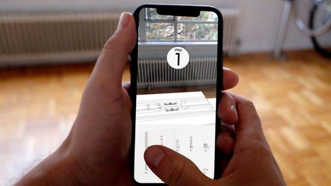 ikea augmented reality instructions