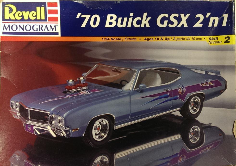 instructions 1970 monogram buick gsx