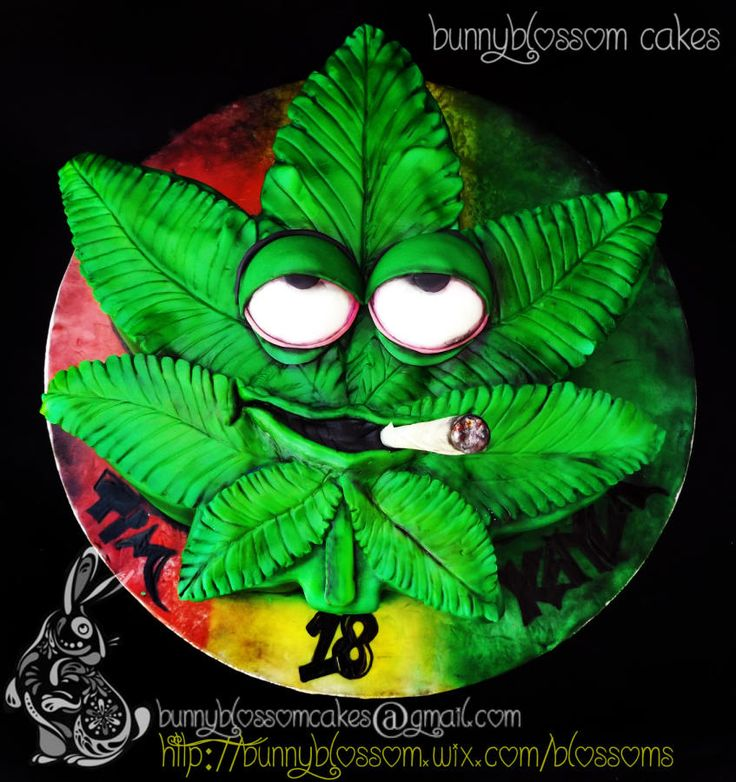 instructions for a weed birthday cake without weed