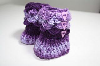 instructions for dragon stitch slippers