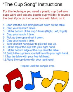 instructions for printing songs
