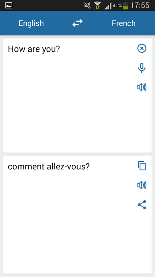 instructions in french google translate