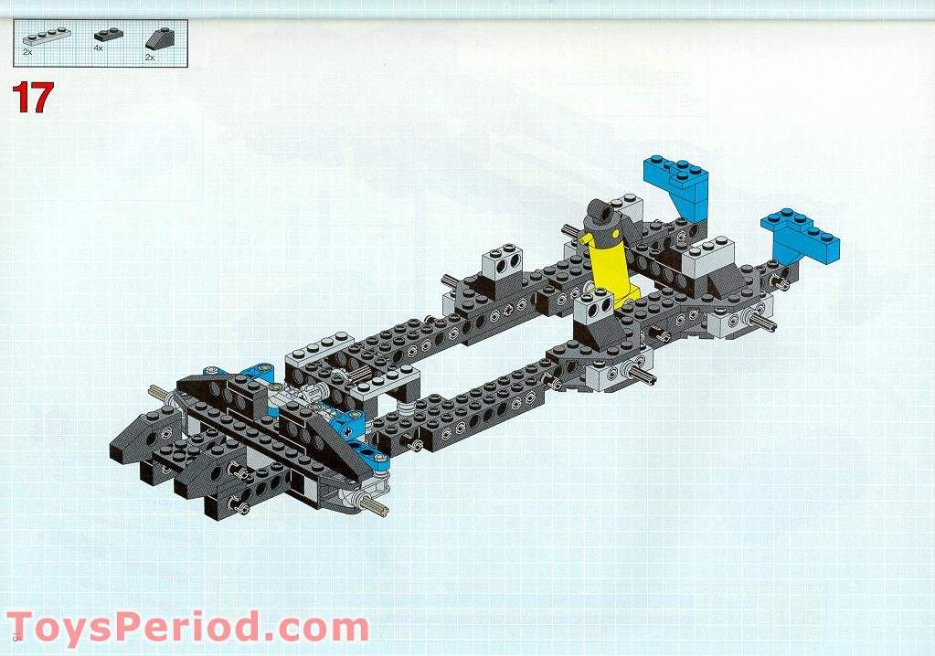 instructions lego tow truck