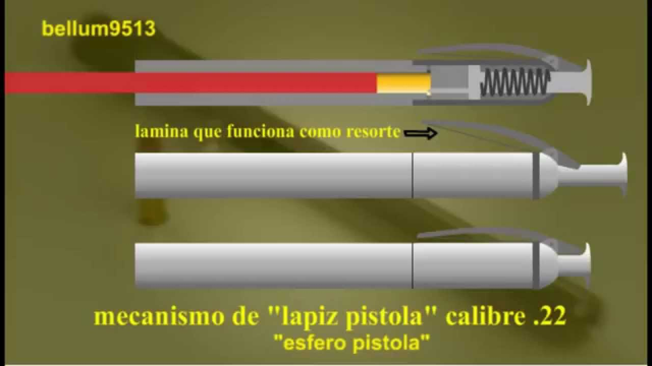 instructions on how to make a 22 pen gun