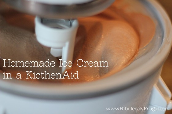 kitchenaid ice cream maker instructions uk