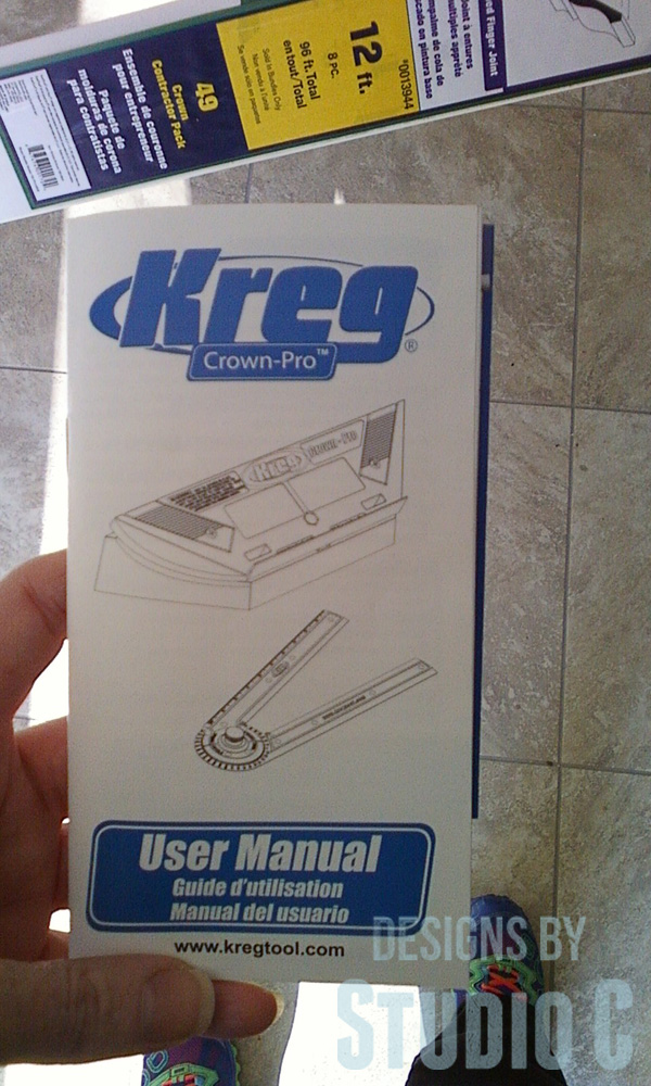 kreg jig crown pro instructions