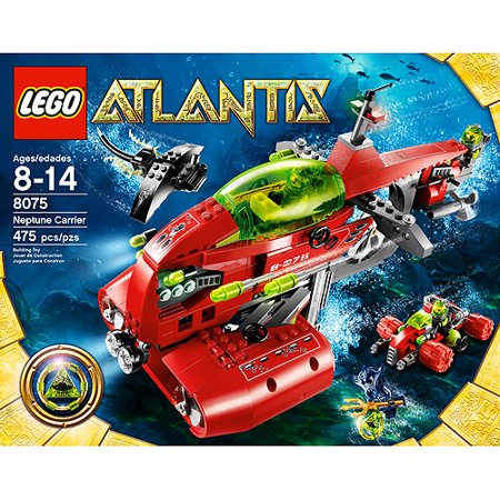 lego atlantis instructions neptune carrier