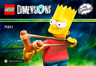 lego dimensions simpsons instructions 71227