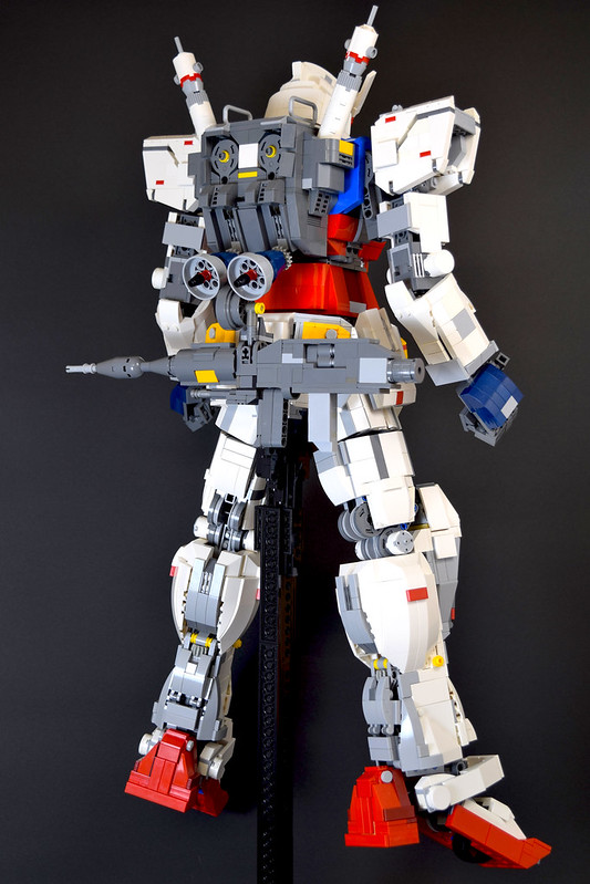 lego gundam head instructions