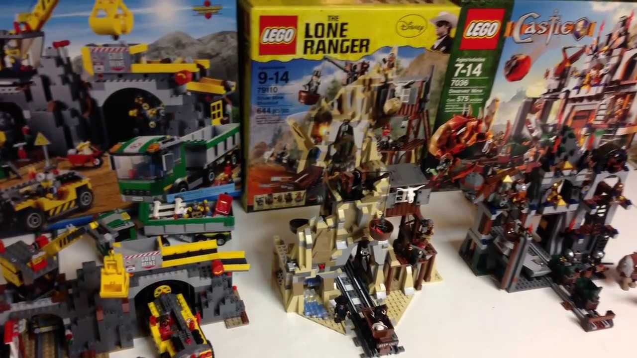 lego lone ranger mine instructions