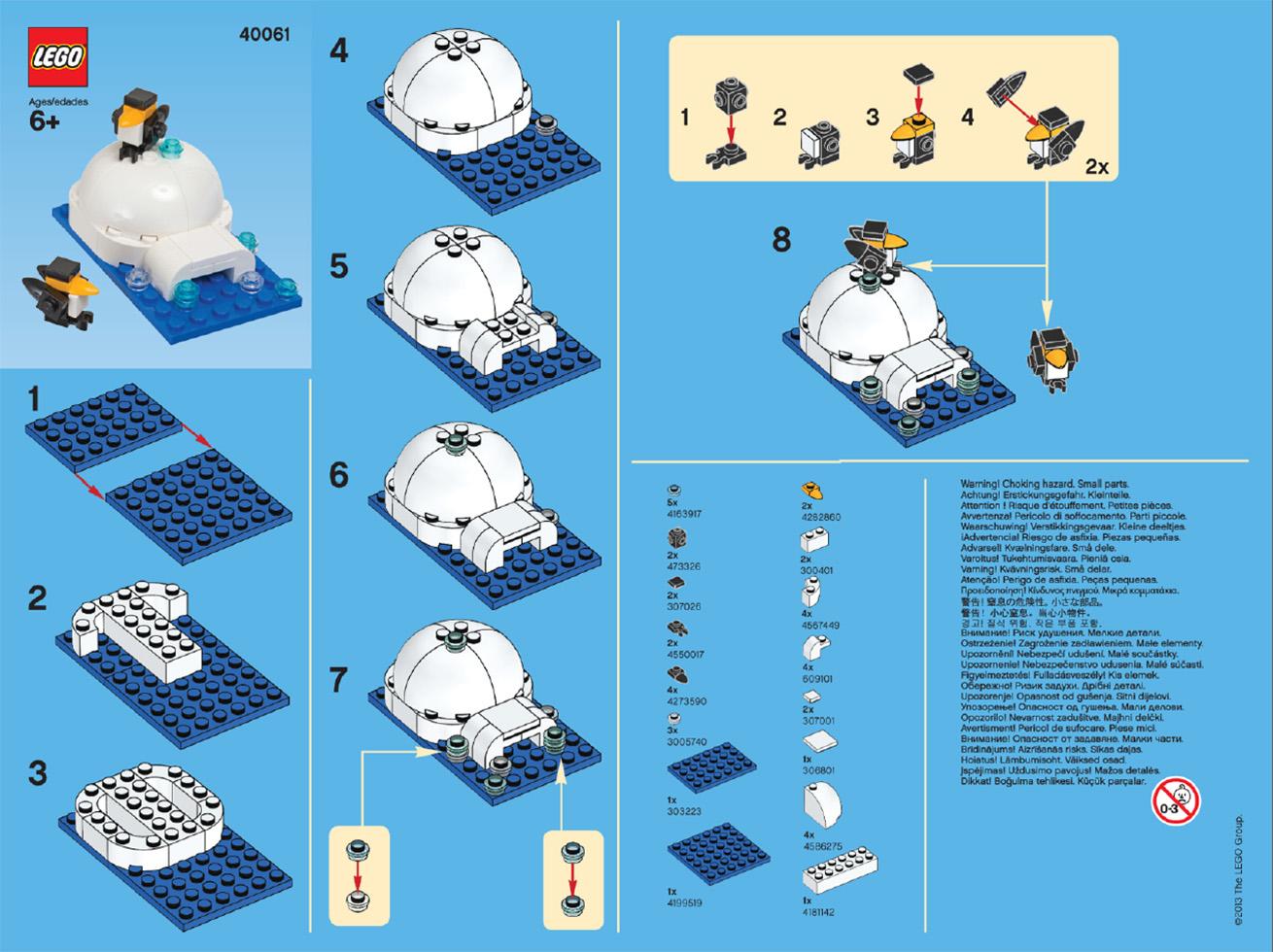 lego mini building instructions