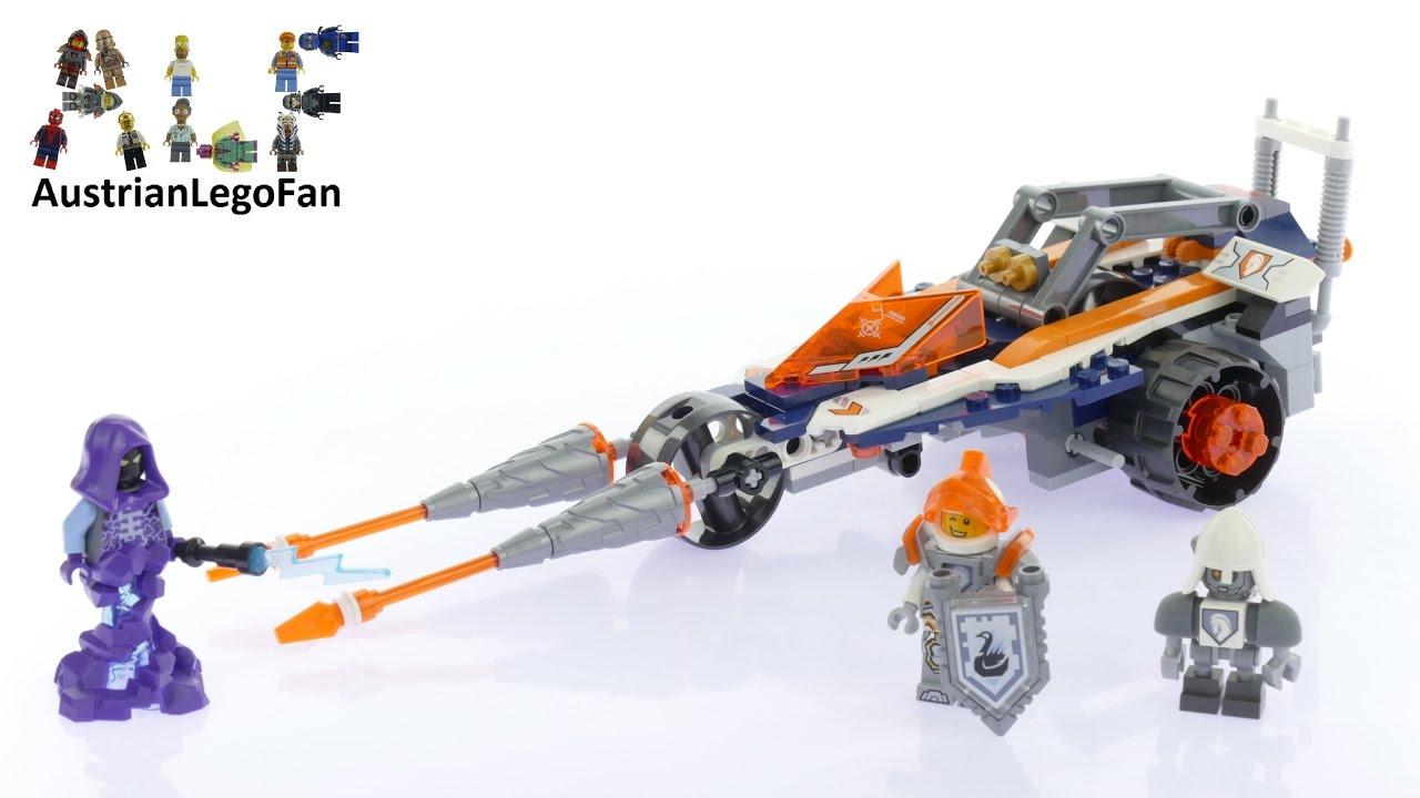 lego nexo knights lance vehicle instructions
