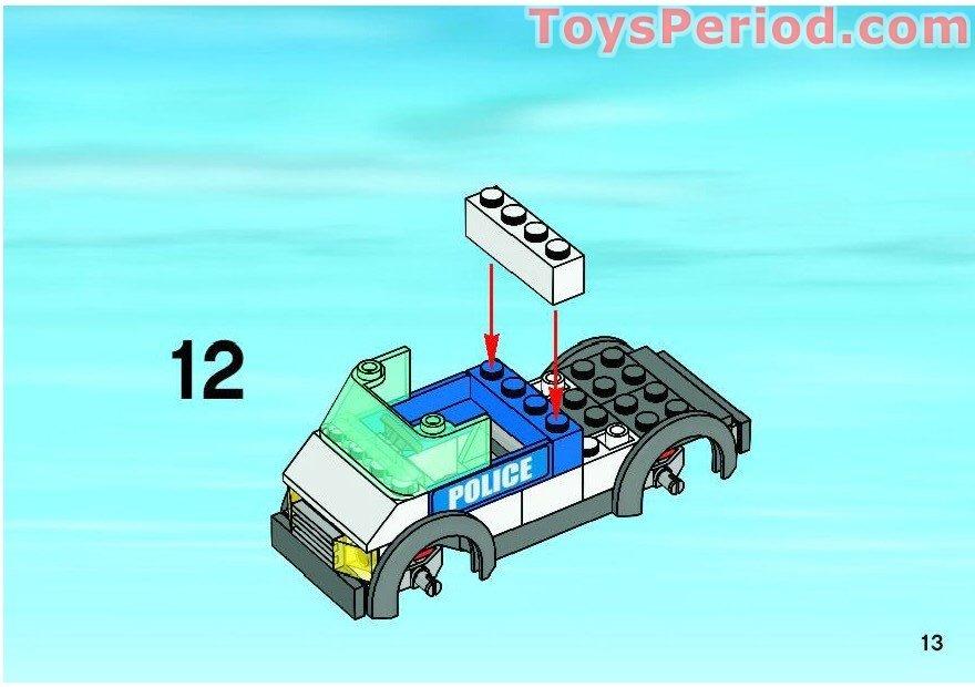 lego police car instructions 7744