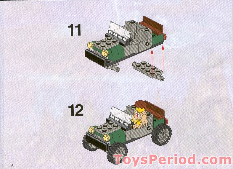 lego werewolf set instructions