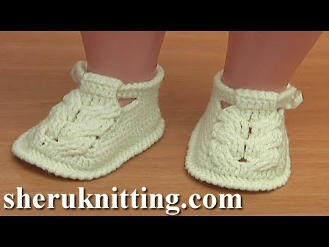 links crocheted shoe instructions