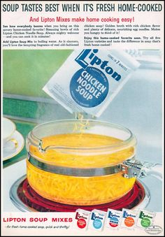 lipton chicken noodle soup cooking instructions