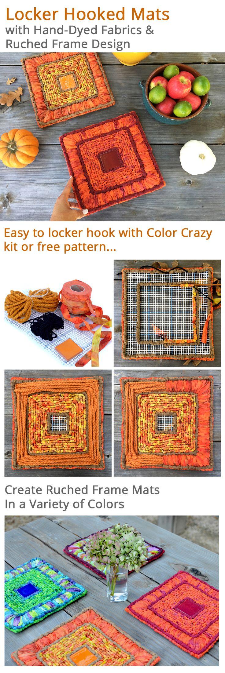 locker hook rugs instructions