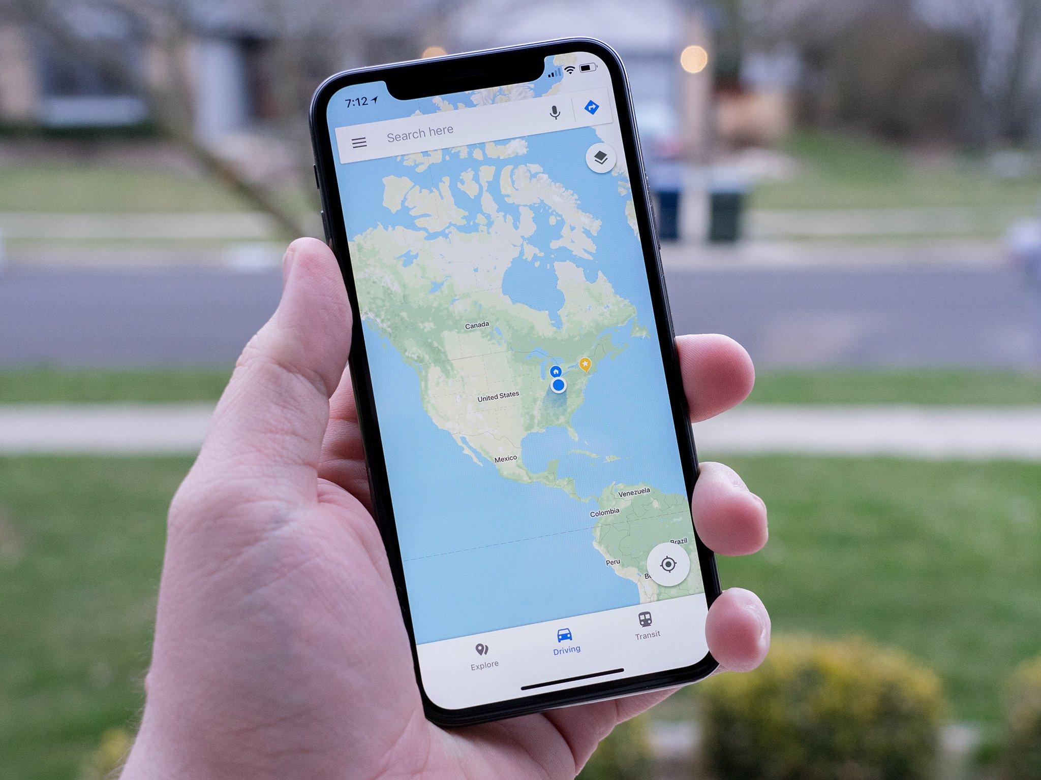 map google drive instructions