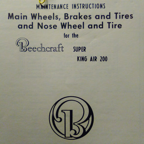 matco nose wheel instructions