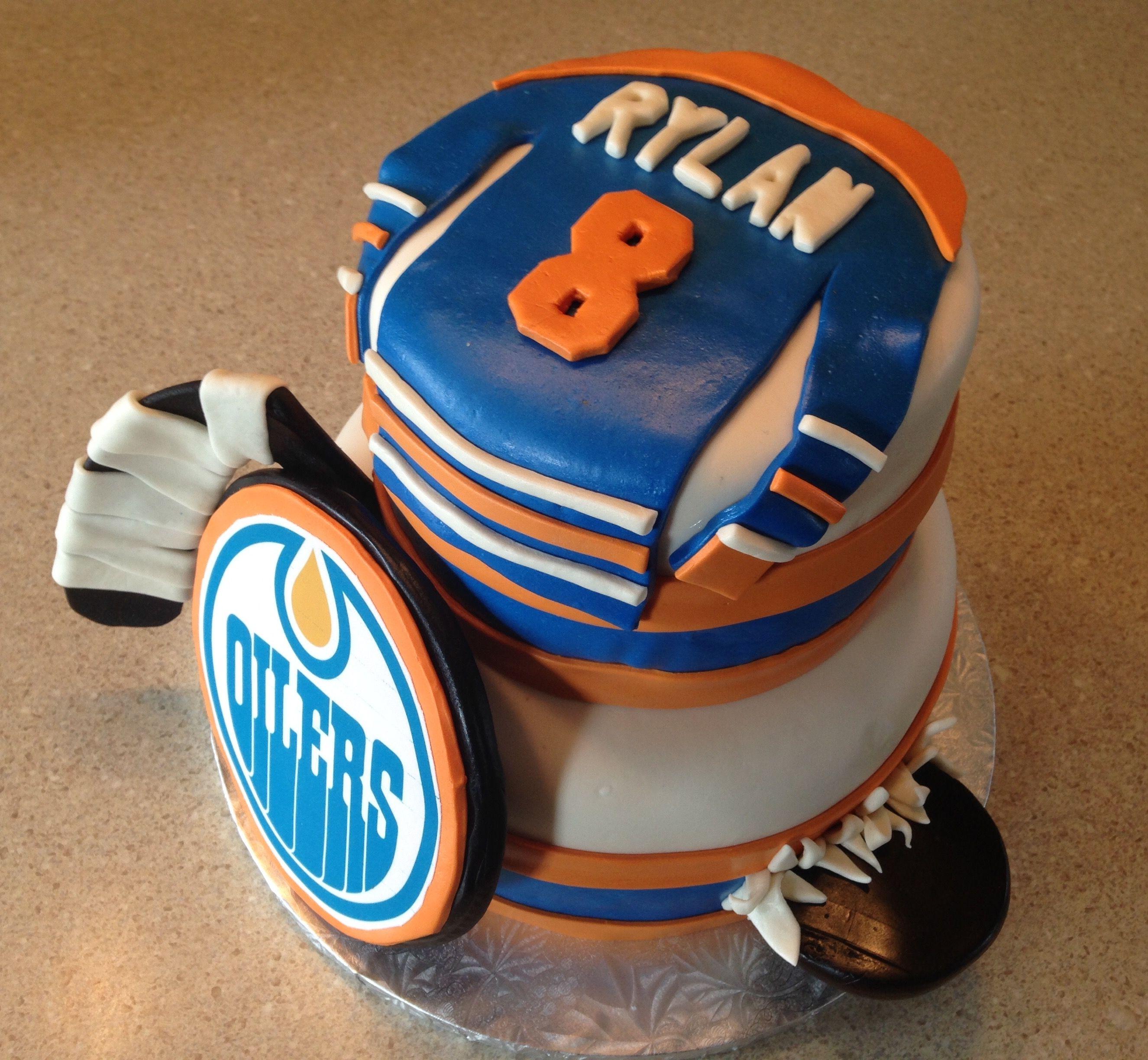 mcdavid hockey jersey cake instructions