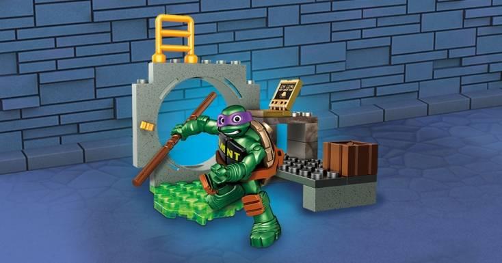 mega bloks ninja turtles instructions