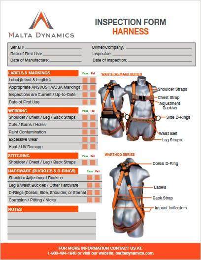 miller full body harness instruction manual
