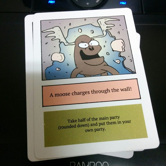 moose in the house card game instructions